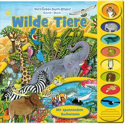 Wilde Tiere – 8-Button-Soundbuch