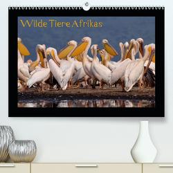 Wilde Tiere Afrikas (Premium, hochwertiger DIN A2 Wandkalender 2021, Kunstdruck in Hochglanz) von Depner,  Uta