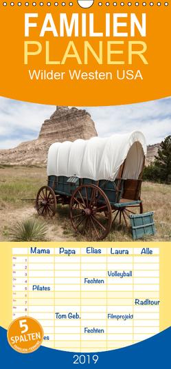 Wilder Westen USA – Familienplaner hoch (Wandkalender 2019 , 21 cm x 45 cm, hoch) von Leitz,  Patrick