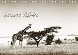 Wildes Afrika (Tischkalender 2019 DIN A5 quer) von Tiedge - Wanyamacollection,  Klaus