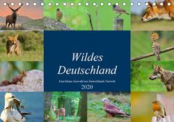 """Wildes Deutschland (Tischkalender 2020 DIN A5 quer) von Freund,  Andreas""""aFriend"""""""