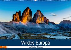 Wildes Europa (Wandkalender 2019 DIN A2 quer) von Stoiber,  Woife