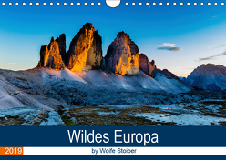 Wildes Europa (Wandkalender 2019 DIN A4 quer) von Stoiber,  Woife