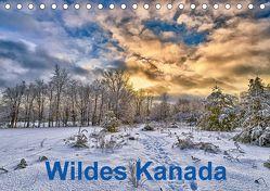Wildes Kanada (Tischkalender 2018 DIN A5 quer) von Atlantismedia,  k.A.