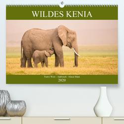 Wildes Kenia (Premium, hochwertiger DIN A2 Wandkalender 2020, Kunstdruck in Hochglanz) von Schikore,  Martina