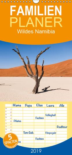 Wildes Namibia – Familienplaner hoch (Wandkalender 2019 , 21 cm x 45 cm, hoch) von & Stefanie Krüger,  Carsten