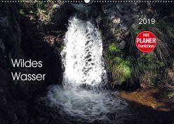 Wildes Wasser (Wandkalender 2019 DIN A2 quer) von Keller,  Angelika