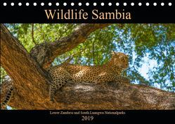 Wildlife Sambia (Tischkalender 2019 DIN A5 quer) von Photo4emotion.com
