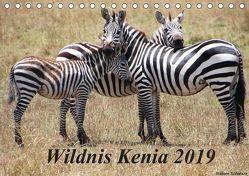 Wildnis Kenia 2019 (Tischkalender 2019 DIN A5 quer) von Schwarz,  Rainer