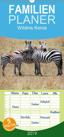 Wildnis Kenia – Familienplaner hoch (Wandkalender 2019 , 21 cm x 45 cm, hoch) von Schwarz,  Rainer