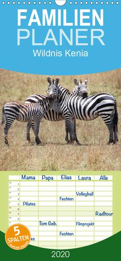 Wildnis Kenia – Familienplaner hoch (Wandkalender 2020 , 21 cm x 45 cm, hoch) von Schwarz,  Rainer