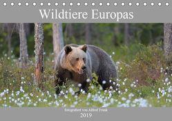 Wildtiere Europas (Tischkalender 2019 DIN A5 quer) von Trunk,  Alfred