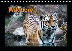 Wildtiere (Tischkalender 2019 DIN A5 quer) von Knof,  Claudia, www.cknof.de,  k.A.