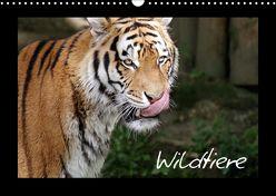 Wildtiere (Wandkalender 2018 DIN A3 quer) von Zeller und Christian Kiedy,  Katrin