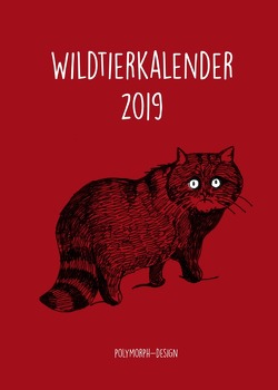 Wildtierkalender 2019 von Hüttinger,  Berit