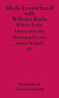 Wilhelm-Raabe-Literaturpreis von Lewitscharoff,  Sibylle