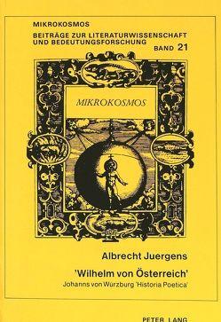 «Wilhelm von Österreich» von Juergens,  Albrecht