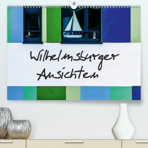 Wilhelmsburger Ansichten (Premium, hochwertiger DIN A2 Wandkalender 2021, Kunstdruck in Hochglanz) von Hampe,  Gabi