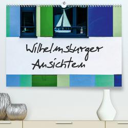 Wilhelmsburger Ansichten (Premium, hochwertiger DIN A2 Wandkalender 2020, Kunstdruck in Hochglanz) von Hampe,  Gabi
