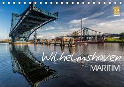 Wilhelmshaven maritim (Tischkalender 2019 DIN A5 quer) von Giesers,  Stephan