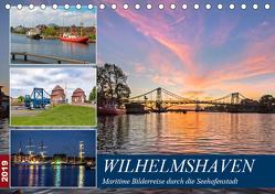 Wilhelmshaven, maritime Bilderreise (Tischkalender 2019 DIN A5 quer) von Dreegmeyer,  Andrea