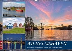 Wilhelmshaven, maritime Bilderreise (Wandkalender 2019 DIN A2 quer) von Dreegmeyer,  Andrea