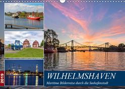 Wilhelmshaven, maritime Bilderreise (Wandkalender 2019 DIN A3 quer) von Dreegmeyer,  Andrea