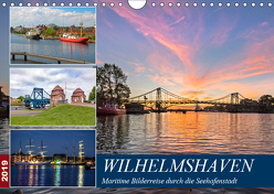Wilhelmshaven, maritime Bilderreise (Wandkalender 2019 DIN A4 quer) von Dreegmeyer,  Andrea