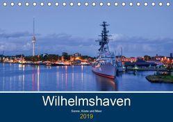 Wilhelmshaven – Sonne, Küste und Meer (Tischkalender 2019 DIN A5 quer) von Müller,  Birgit