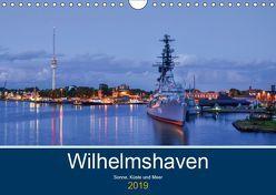 Wilhelmshaven – Sonne, Küste und Meer (Wandkalender 2019 DIN A4 quer) von Müller,  Birgit