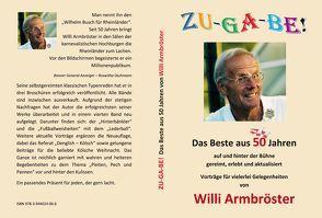 """Willi Armbröster """"Zugabe: Das Beste aus 50 Jahren"""" von Armbröster,  Willi"""