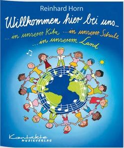 Willkommen hier bei uns von Beckmann,  Udo, Horn,  Reinhard u.a.