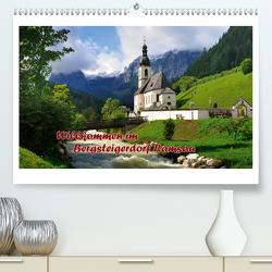 Willkommen im Bergsteigerdorf Ramsau (Premium, hochwertiger DIN A2 Wandkalender 2021, Kunstdruck in Hochglanz) von Wilczek,  Dieter-M.
