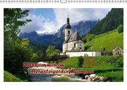 Willkommen im Bergsteigerdorf Ramsau (Wandkalender 2019 DIN A3 quer) von Wilczek,  Dieter-M.