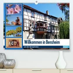Willkommen in Bensheim an der Bergstraße (Premium, hochwertiger DIN A2 Wandkalender 2021, Kunstdruck in Hochglanz) von Andersen,  Ilona