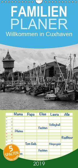 Willkommen in Cuxhaven – Familienplaner hoch (Wandkalender 2019 , 21 cm x 45 cm, hoch) von kattobello