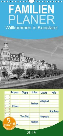 Willkommen in Konstanz – Familienplaner hoch (Wandkalender 2019 , 21 cm x 45 cm, hoch) von kattobello
