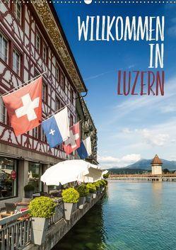 Willkommen in Luzern (Wandkalender 2018 DIN A2 hoch) von Viola,  Melanie