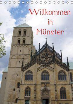 Willkommen in Münster (Tischkalender 2019 DIN A5 hoch) von kattobello