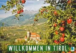 Willkommen in Tirol (Wandkalender 2020 DIN A2 quer) von CALVENDO