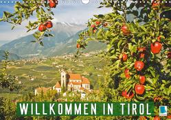 Willkommen in Tirol (Wandkalender 2021 DIN A3 quer) von CALVENDO