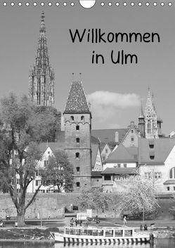 Willkommen in Ulm (Wandkalender 2018 DIN A4 hoch) von Kattobello,  k.A.