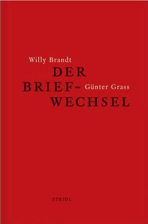 Willy Brandt und Günter Grass von Kölbel,  Martin
