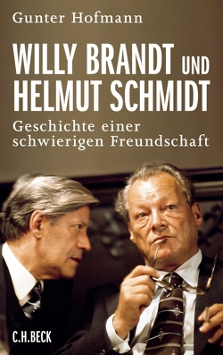 Willy Brandt und Helmut Schmidt von Hofmann,  Gunter