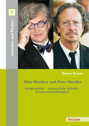 Wim Wenders und Peter Handke von E.,  Grimm Gunter, Köster,  Werner, Rolf,  Parr, Volker,  Wehdeking