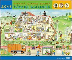 Wimmel-Kalender 2019 – DuMont Kinderkalender – Wandkalender 58,4 x 48,5 cm – Spiralbindung von Berner,  Rotraut Susanne, DUMONT Kalenderverlag