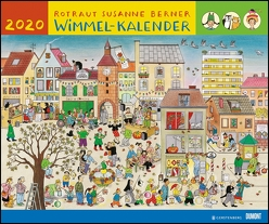 Wimmel-Kalender 2020 – DuMont Kinderkalender – Wandkalender 58,4 x 48,5 cm – Spiralbindung von Berner,  Rotraut Susanne, DUMONT Kalenderverlag