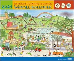 Wimmel-Kalender 2021 – DUMONT Kinderkalender – Wandkalender 58,4 x 48,5 cm – Spiralbindung von Berner,  Rotraud Susanne