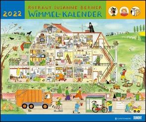 Wimmel-Kalender 2022 – DUMONT Kinderkalender – Wandkalender 58,4 x 48,5 cm – Spiralbindung von Berner,  Rotraud Susanne