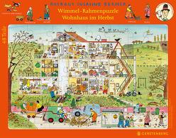 Wimmel-Rahmenpuzzle Herbst Motiv Wohnhaus von Berner,  Rotraut Susanne